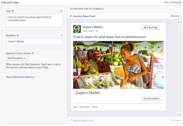 Facebook Local Awareness Ads For Promoting Your Local Business