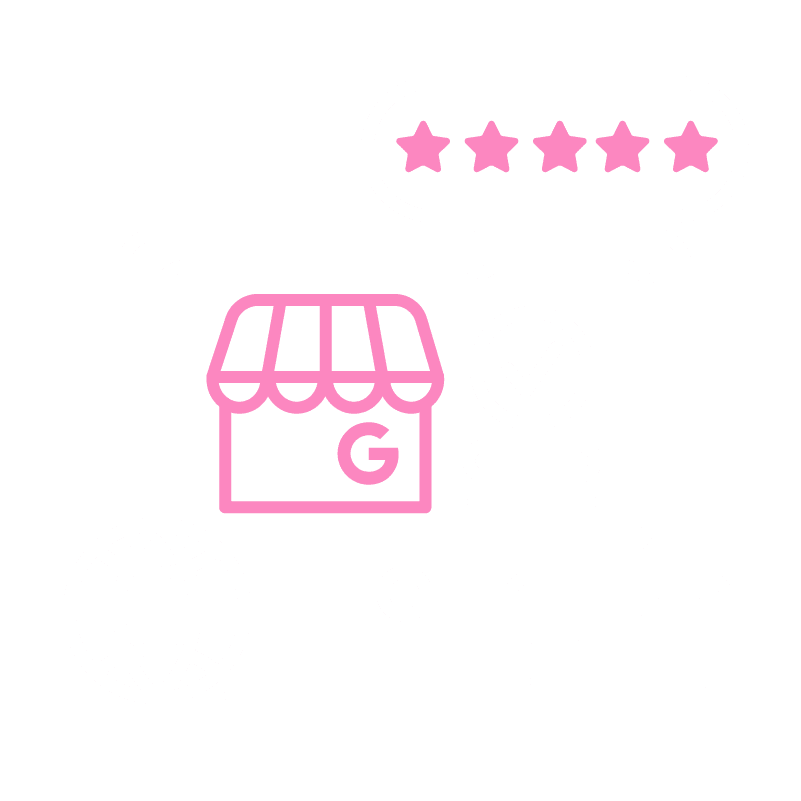 GMB Reviews Icon White
