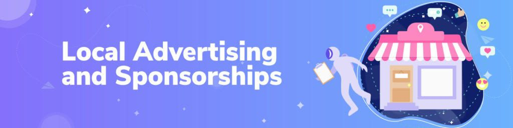 Local Advertising and Sponsorship Ideas For Local Business
