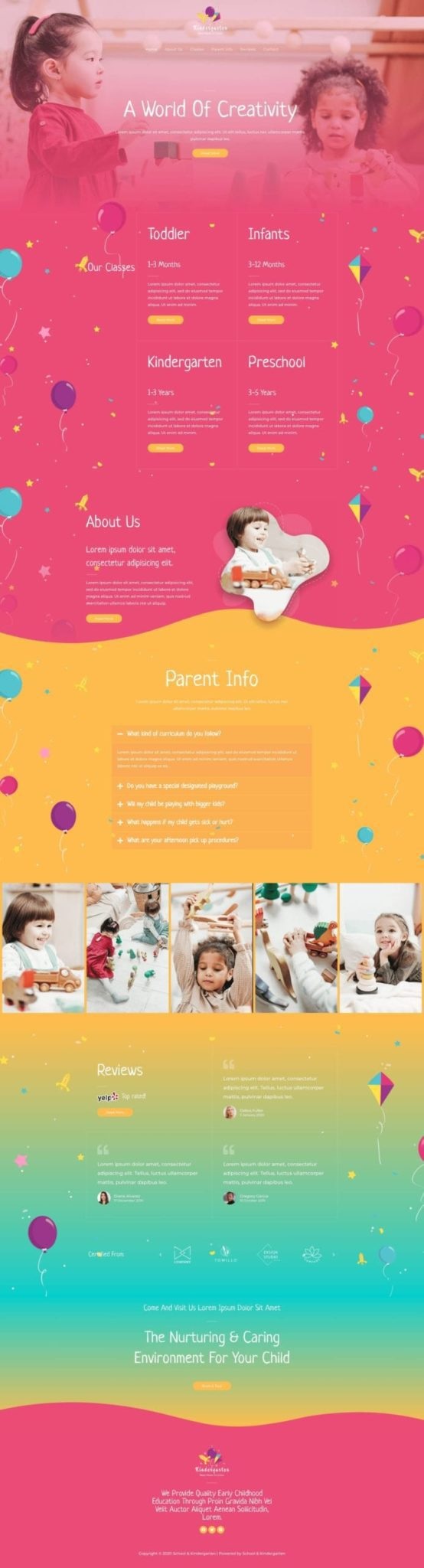 Preview Daycare Site