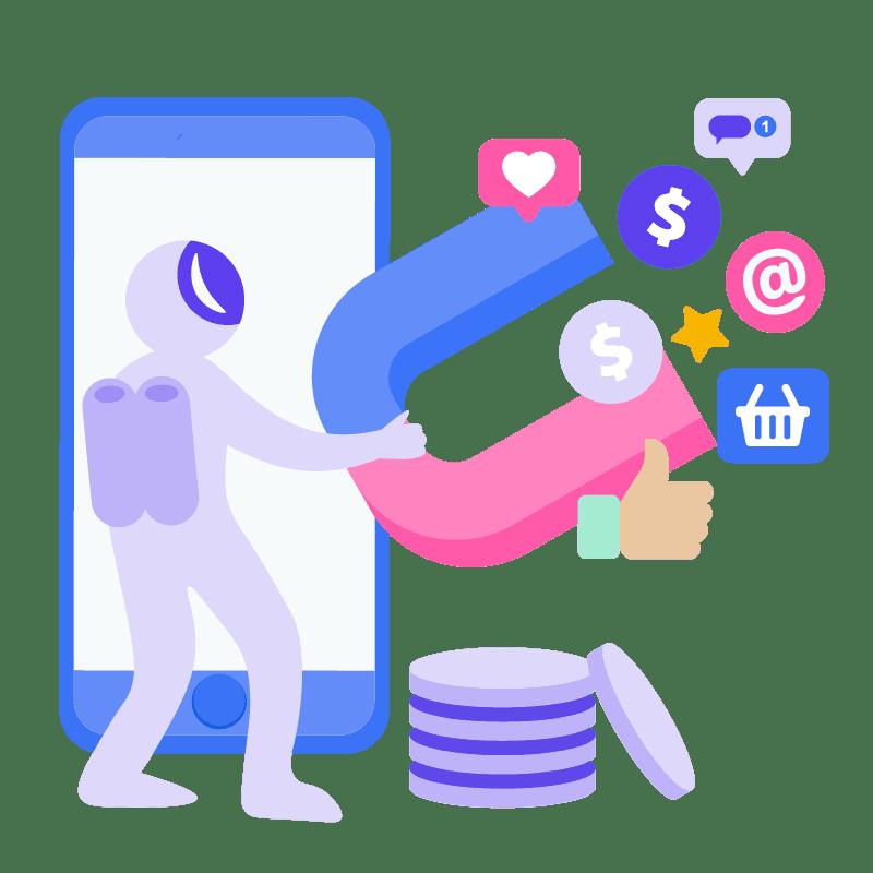 SEO Illustration Content Marketing 05