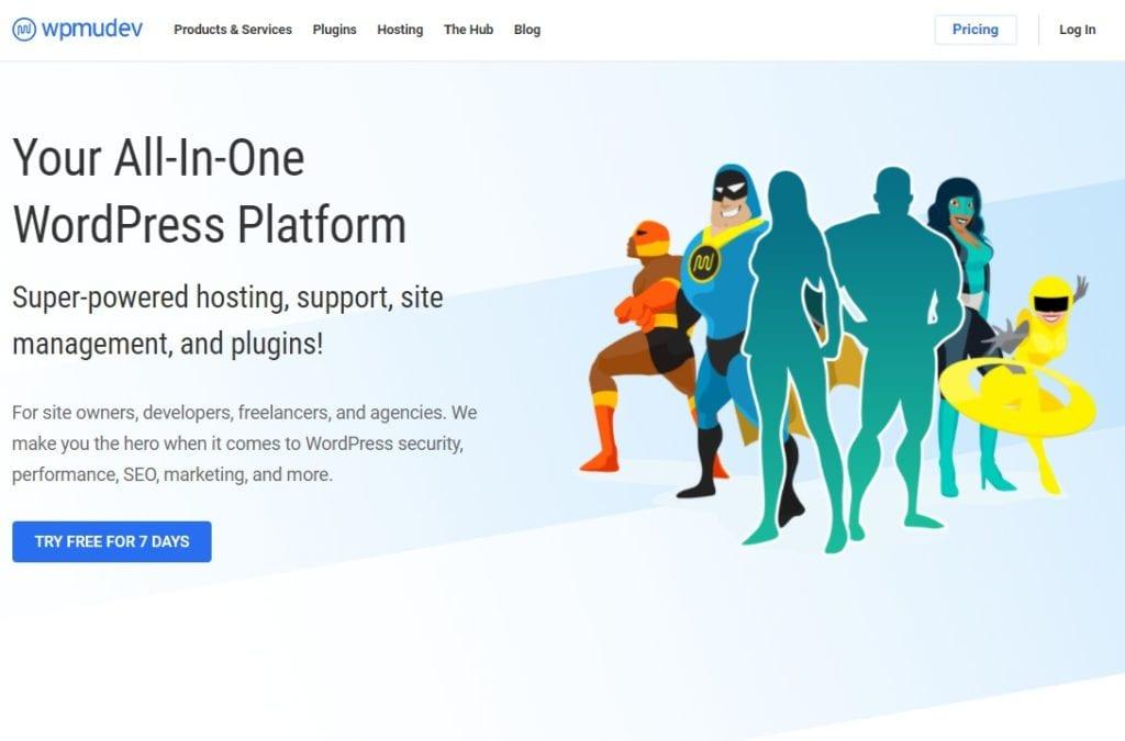 WPMU DEV Your All in One WordPress Platform: Best web hosting for small business