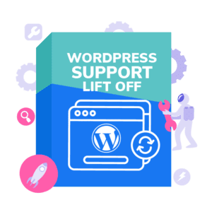 WordPress Support Lift Off