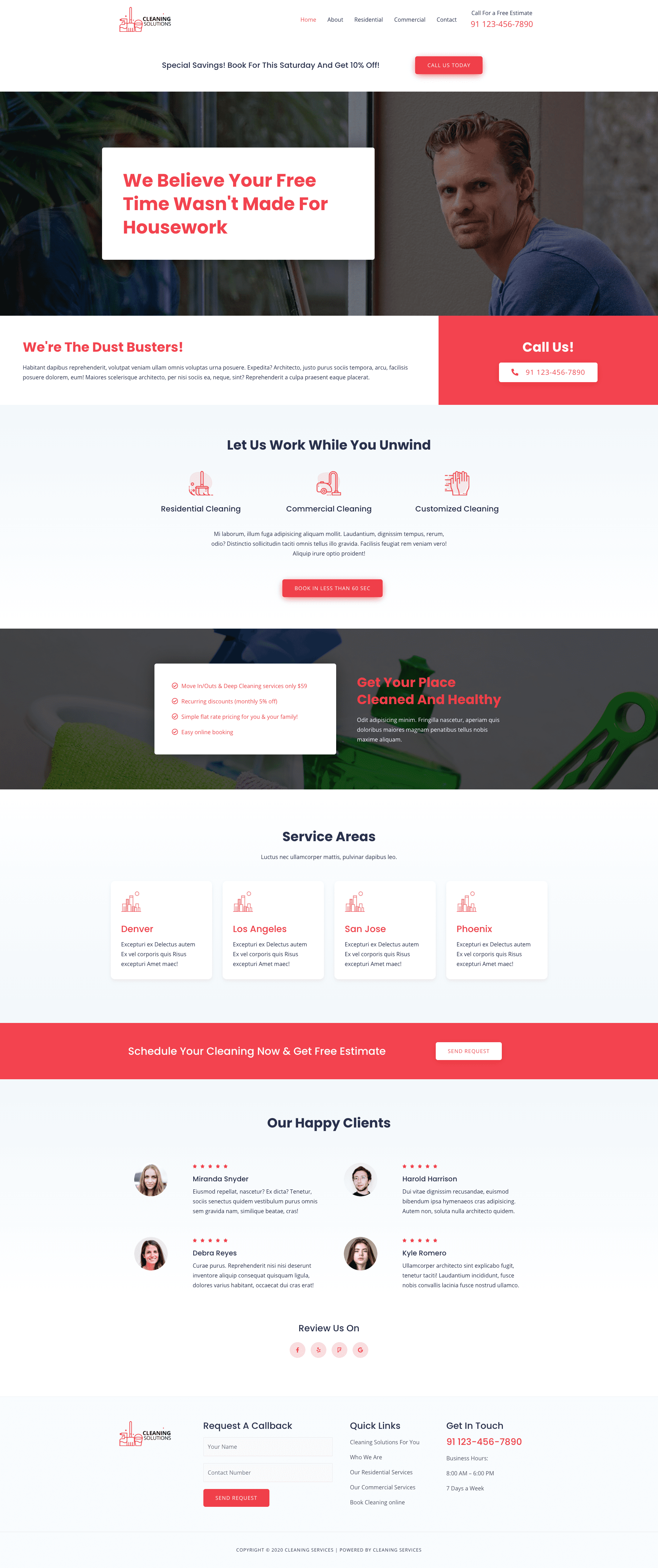 Preview Cleaning Site