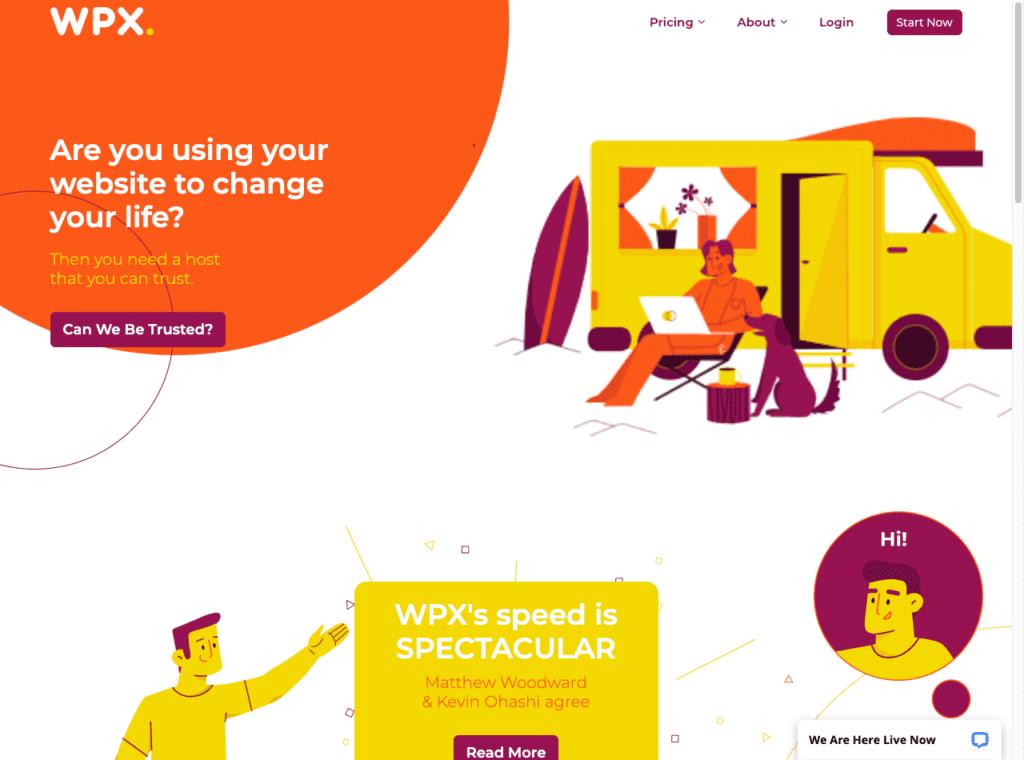 WPX affordable web hosting